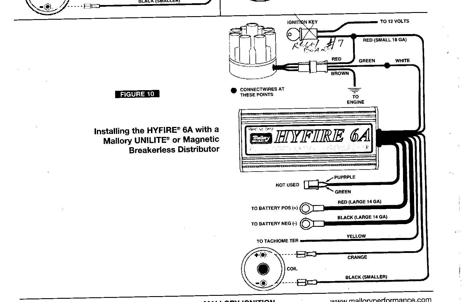 Mallory Distributor Wiring Schematic - Wiring Diagram