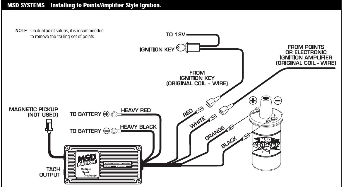 Old Msd 5 Wiring Diagram. 6 Wire Cdi Box Diagram, Msd