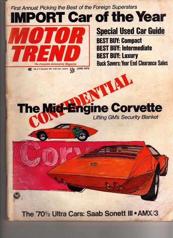 914World.com > New Motor Trend article: 914 import car of the year