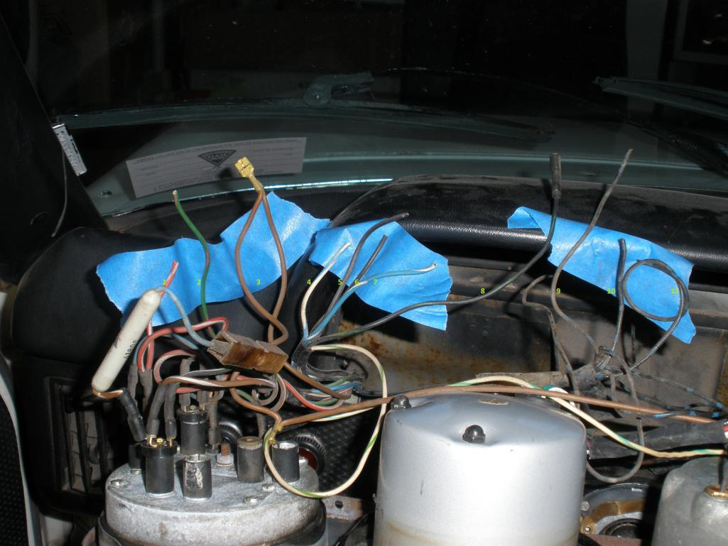 1973 Loose Wires Behind The Dash 1975 Porsche 914 Wiring Diagram Schematic Attached Image