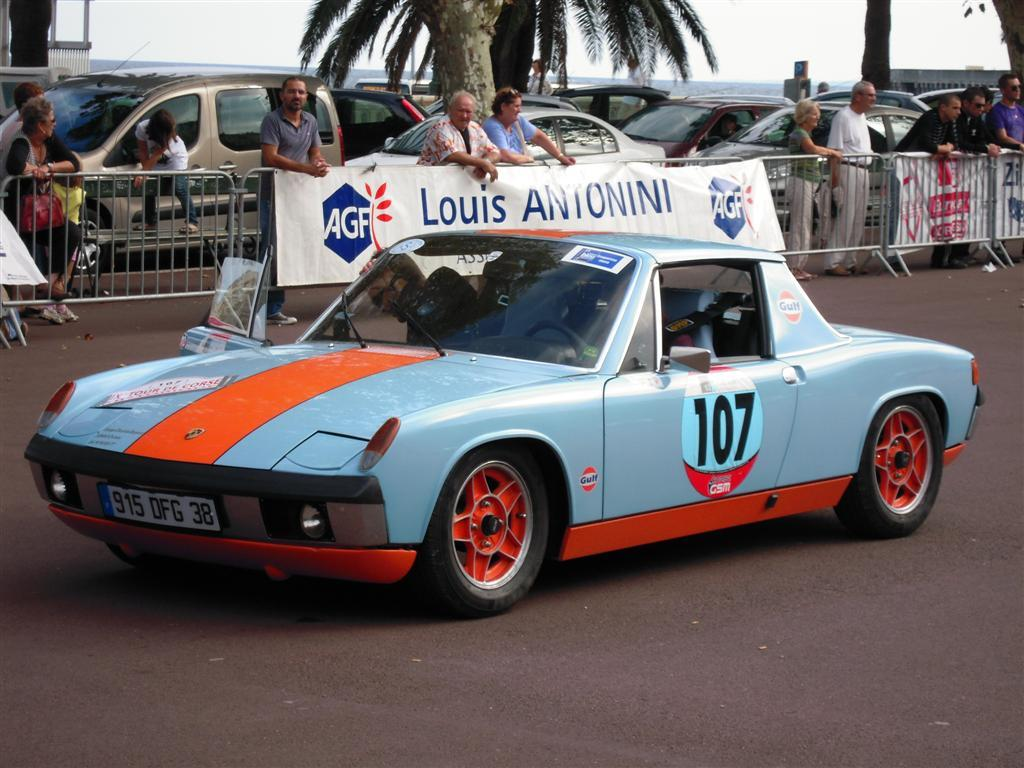 914world Com Gulf Racing Colors On A 914