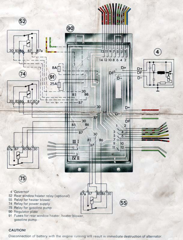 porsche 914 relay board diagram porsche image 914world com 914 6 relay board on porsche 914 relay board diagram