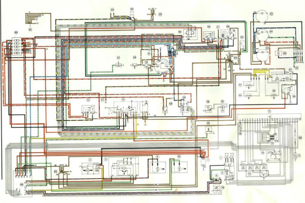 1975 Porsche 914 Wiring Schematic