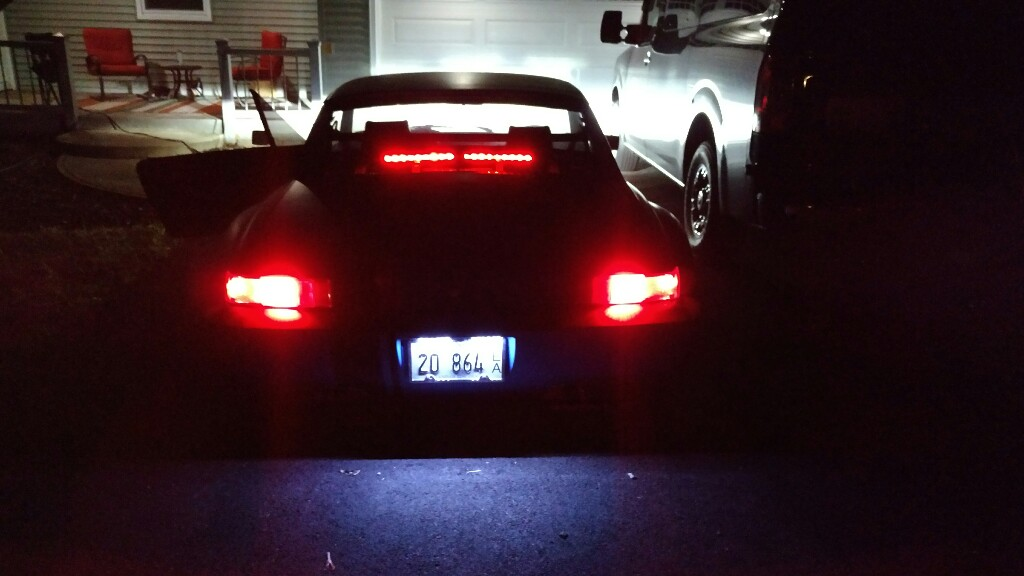 914world led third brake light not sure if anyone has tried this before but i added a third brake light using the cheap led light strips from auto zone i tucked them under the engine lid aloadofball Choice Image