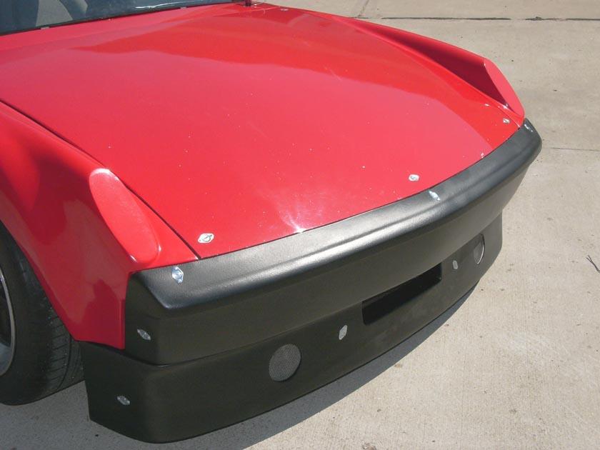Porsche 914 REAR FIBERGLASS BUMPER stock look