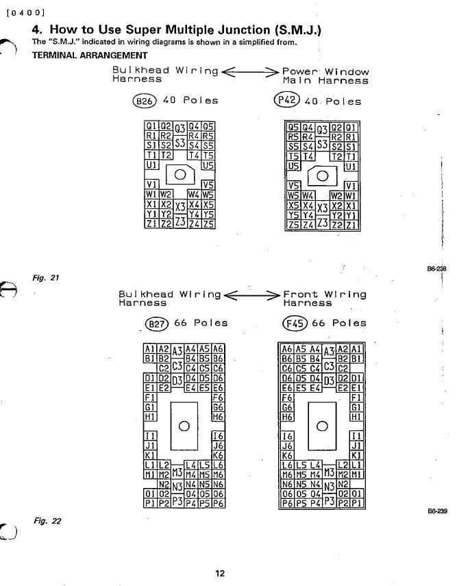 1990 legacy ej22 - smj pin out - anyone have it?