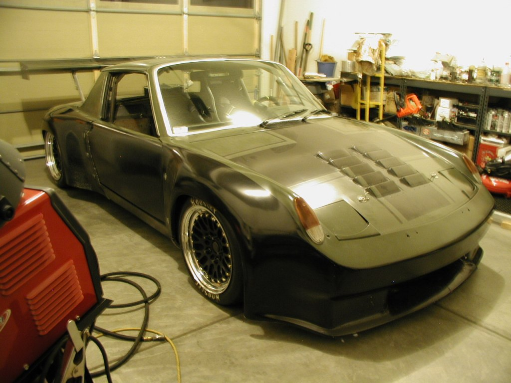 Com Porsche Tube Chassis Race Car Roller For Sale