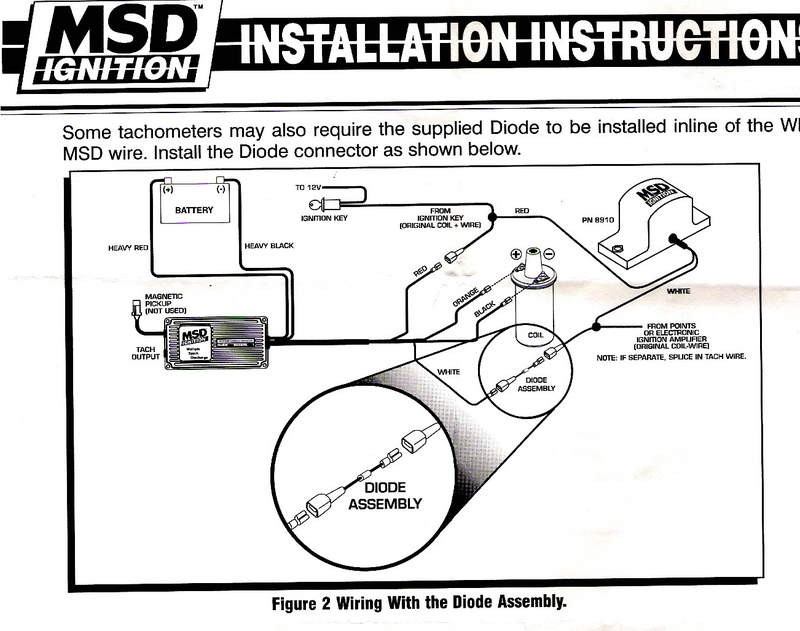 msd ignition wiring diagram ford solidfonts how to install an msd 6a digital ignition module on your 1979 1995