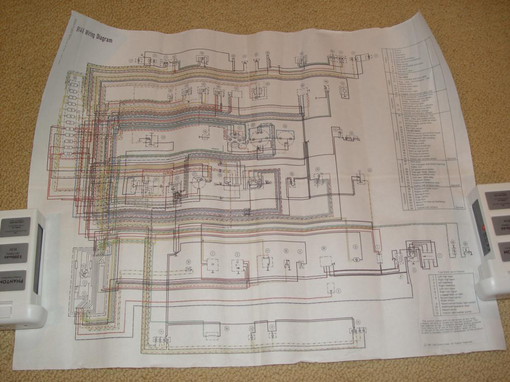 [SCHEMATICS_44OR]  914World.com | 914 6 color wiring chart | Porsche 914 6 Wiring Diagram |  | 914 World