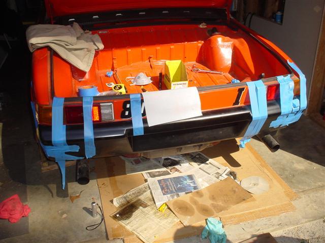 914World com   Fiberglass bumper install