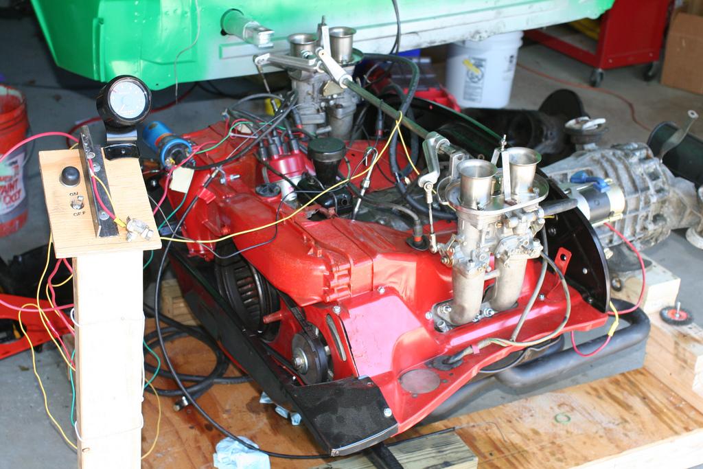 914world com engine test stand rh 914world com Porsche 914 Drawing Porsche 914 Turbo