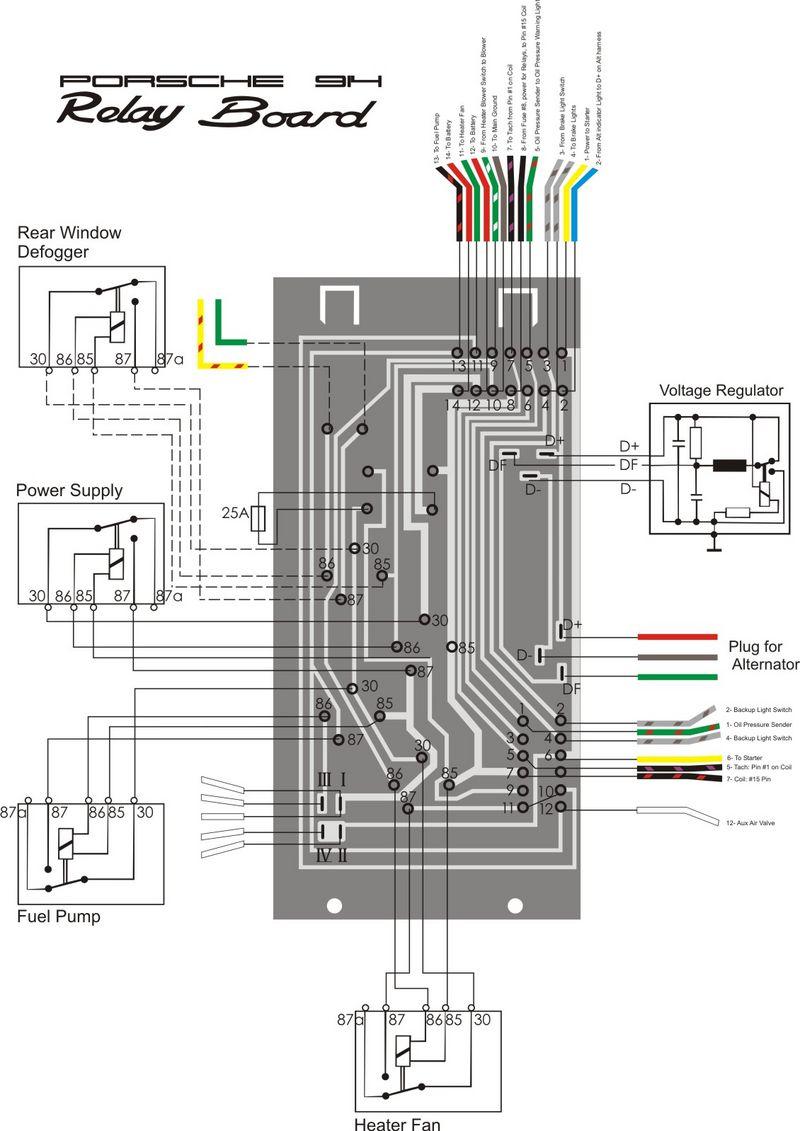 1974 Porsche Wiring Diagram Library Chevelle
