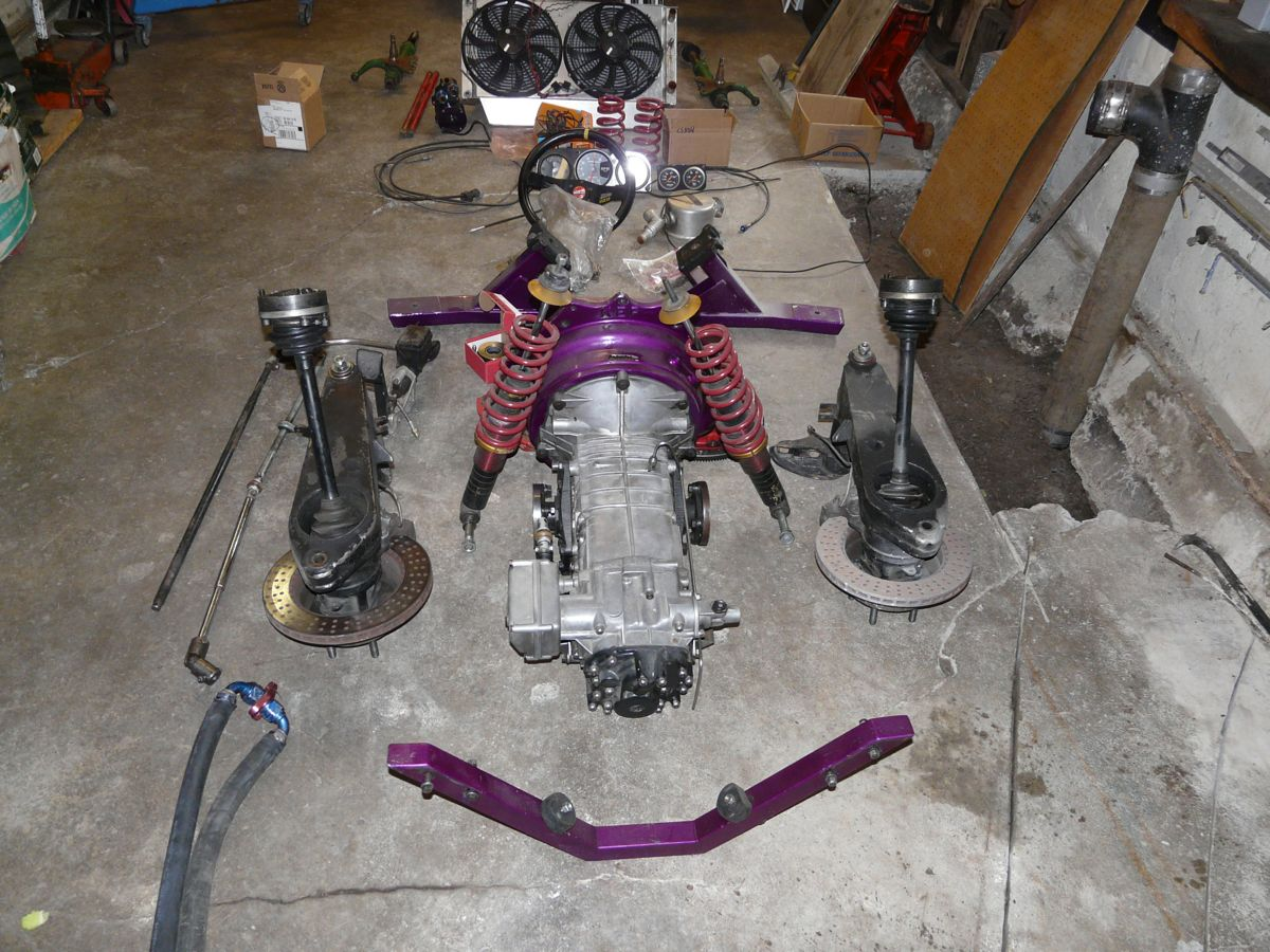 914world Com Gt 914 V8 Conversion With Pantera Transaxle By Zf