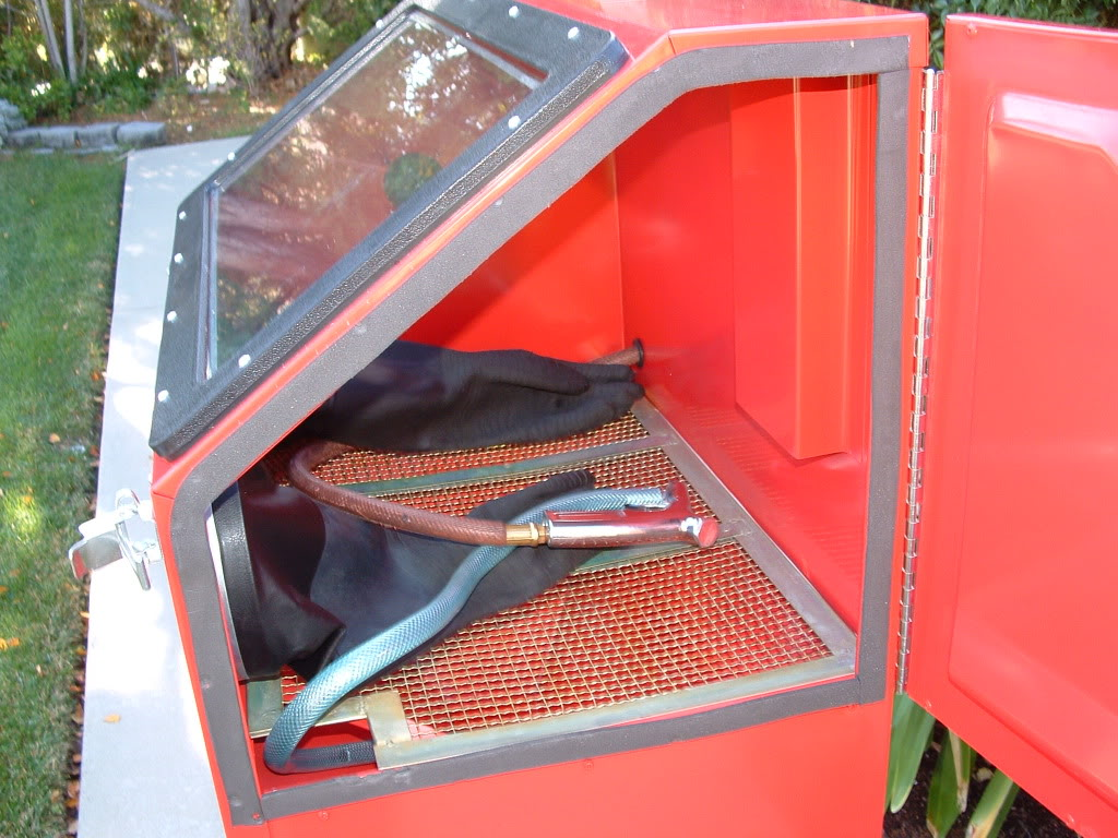 914World.com > Sand Blasting Cabinet