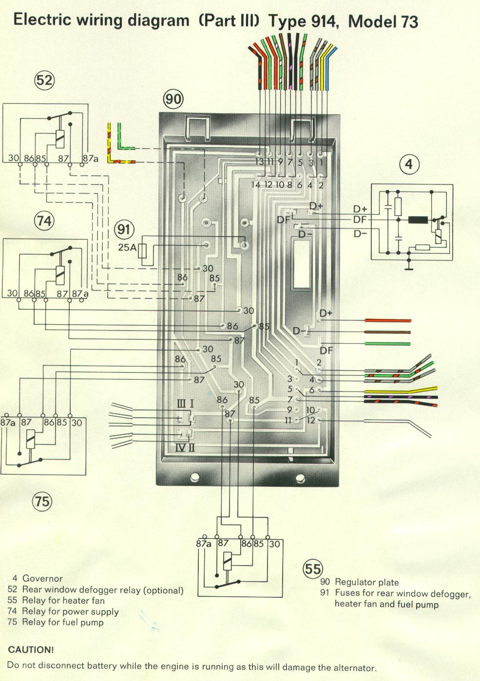 porsche 1973 1914 fuse box diagram 1973 f250 fuse box diagram