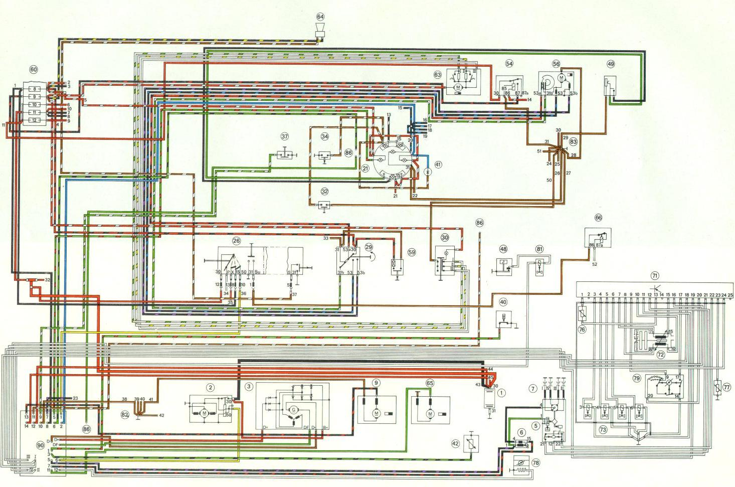 1975 911 tach wiring diagram porsche 911 carrera wiring diagram